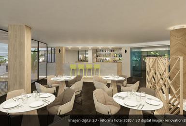 Бар- Отреставрированный в 2020 Отель AluaSoul Palma (Только для взрослых) Cala Estancia, Mallorca