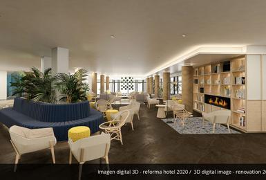 Общие области- Отреставрированный в 2020 Отель AluaSoul Palma (Только для взрослых) Cala Estancia, Mallorca
